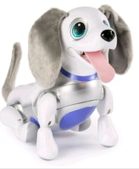 white and grey dog plush toy Edmonton, T5W