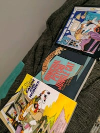 Calvin and Hobbes comic books Coquitlam, V3K 1Y1