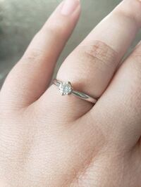 White gold engagement ring Omaha, 68134