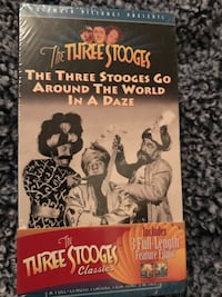 Vintage The Three Stooges Episodes (3 unwrapped)