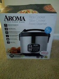 Aroma rice cooker and food steamer box Reston
