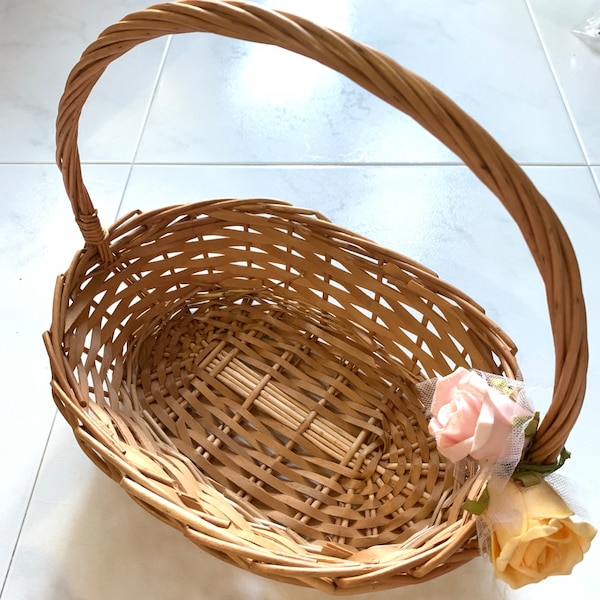 Small Decorated Hamper Basket