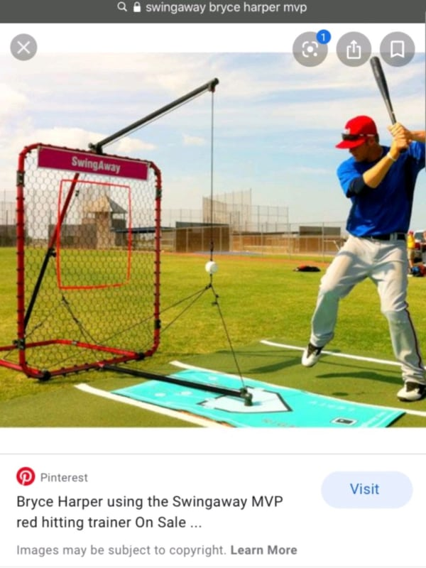Swingaway bryce Harper MVP swing trainer  2