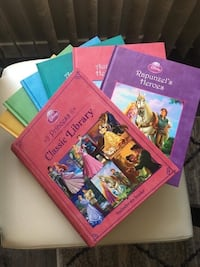 Brand new-collection of 6 disney princess  stories