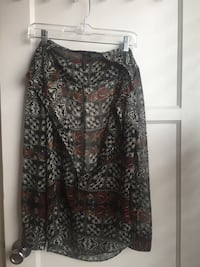 black and gray floral spaghetti strap top Los Angeles, 90048