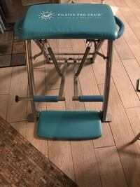 Pilates Pro Chair w accessories and complete DVD collection Melbourne, 32940