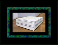 Queen mattress double pillowtop with box spring New Carrollton