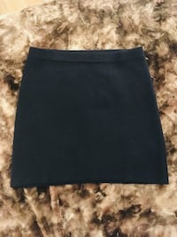 F21 knit skirt navy 535 km