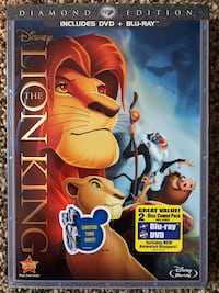 Disney The Lion King Diamond Edition DVD + Blu-Ray Annandale, 22003