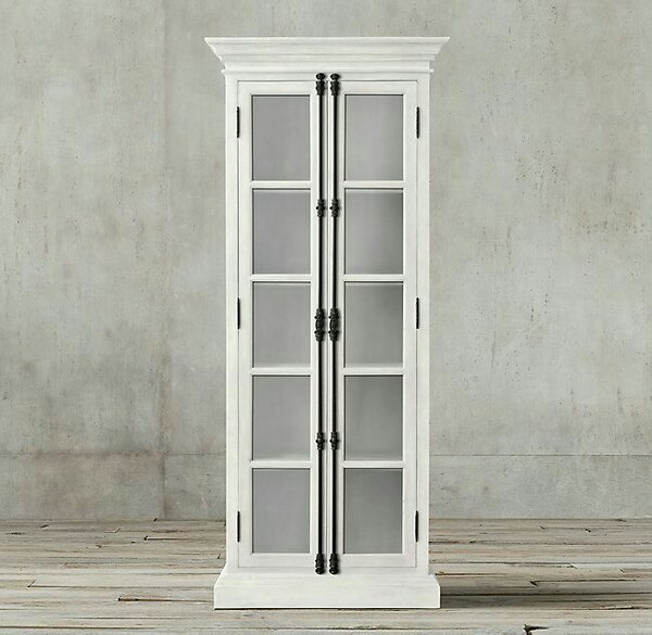 Used Rh French Casement Double Door Cabinet New For Sale In