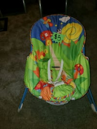 baby's green and blue bouncer Manassas, 20109