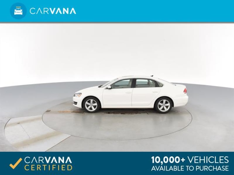 2013 VW Volkswagen Passat sedan 2.5L SE Sedan 4D White <br /> 6
