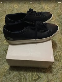Lacoste low-top sneakers with box size 10.5 Alexandria, 22304