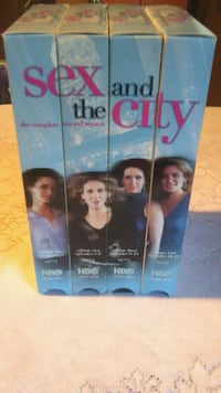 4-TAPE BOX SET OF SEX AND THE CITY ON VHS Utica, 13501
