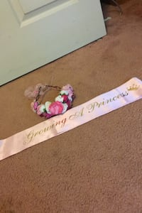 Baby shower (mother)Headband and sash  District Heights, 20747