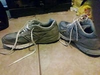 pair of gray-and-black running shoes East Riverdale, 20737