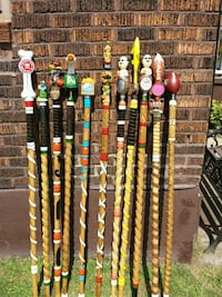 Walking sticks  each50.00. Hand carved with beer t Pittsburgh, 15223