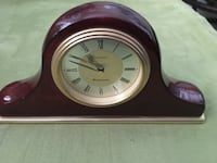 Linden Mantle Clock Wood Finish Mission Viejo, 92691