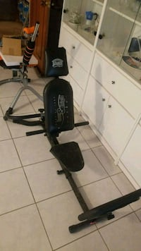 black and gray exercise equipment Mississauga, L4X 2Z8