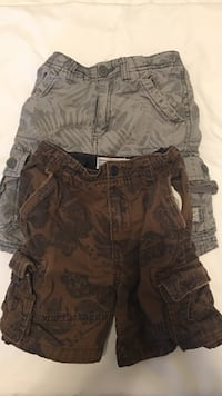 black and brown camouflage cargo shorts Woodbridge, 22193