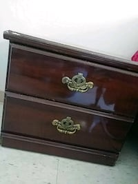 brown wooden 2-drawer for clothes Watsonville, 95076