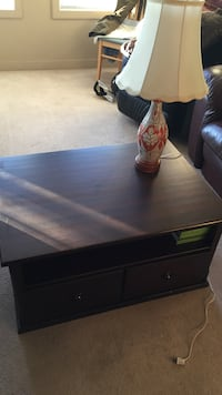 Solid wood. good condition  tv table or tv stand.