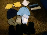 assorted-color sock lot 1926 mi