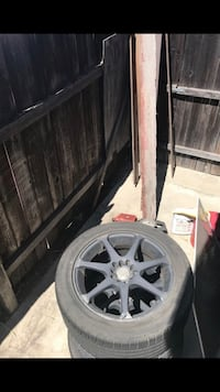 17 inch Motegi racing 5 lug rims withBF Goodrich  tires Gardena