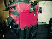 red and black leather bag Kearns, 84118
