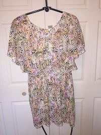 women's multicolored floral dress Toronto, M4W