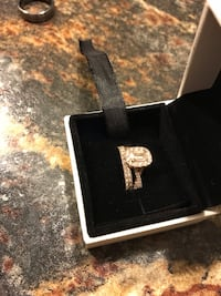 Brand New 14K Rose Gold Diamond Engagement ring with a Band Hilliard, 43016