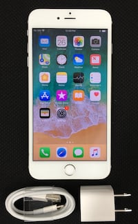 64GB Factory Unlocked iPhone 6s Plus(6s+) - White/Silver  New York, 10018