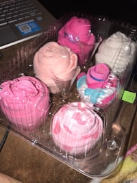 PRICE LOWERED!UNIQUE AFFORDABLE GIFTS 'CUPCAKE ONESIES'LITTLE PRINCESS
