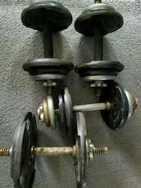 Set if 4 adjustable dumbbells Fort Lauderdale, 33317