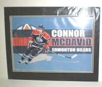 Connor McDavid Edmonton Oilers Double Matted Print London