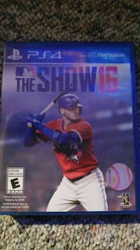 The Show 16 Sony PS4 game case Edmonton, T6E 1Y5