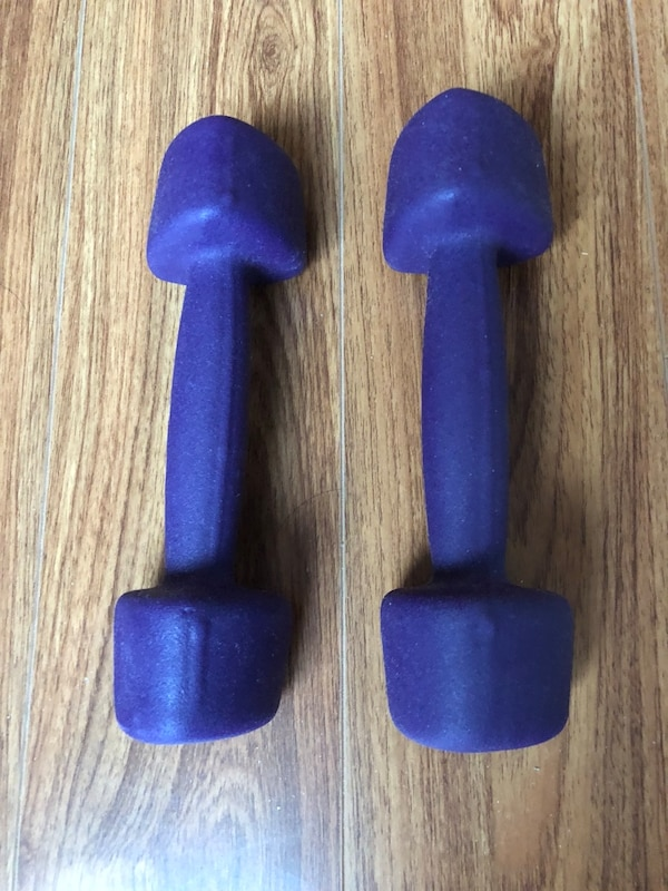 Dumbbells 4LB only $5