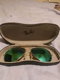 Green lens gold trim Ray-Bans read more Windsor