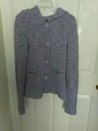 gray button-up cardigan Winter Park, 32792