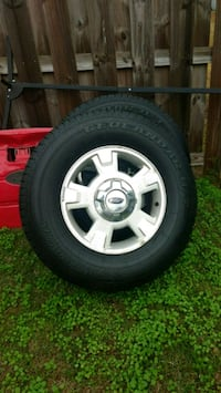 4 New Tires With Wheels Yokohama Geolandar 265 70R/17