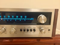 Vintage Pioneer SX-525 AM/FM Stereo Receiver Silver Spring