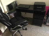 Dark brown wooden desk like new Deerfield Beach, 33441