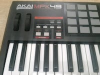 AKAI 49 key mini keyboard controller AKAI MPK49 AP Baltimore, 21216