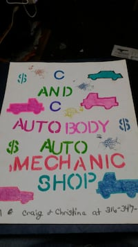 C&C. Complete auto body work and detailing . Car  Wichita, 67213