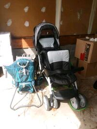 Double stroller & hiking pack/carrier Hampton, 23666