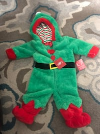 Elf Christmas outfit size 9 months  Watchung, 07069