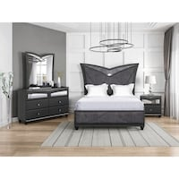 NEW 5 PCS BEVERLY QUEEN OR FULL BEDROOM SET/ FREE LOCAL DELIVERY Clifton, 07013