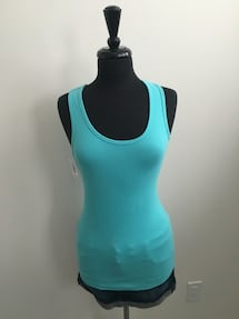 New tna turquoise tank size M