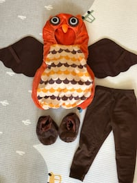 Owl costume fits 9-18 months