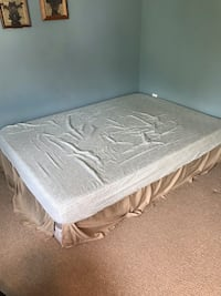 Full bed- mattress and box spring Minneapolis